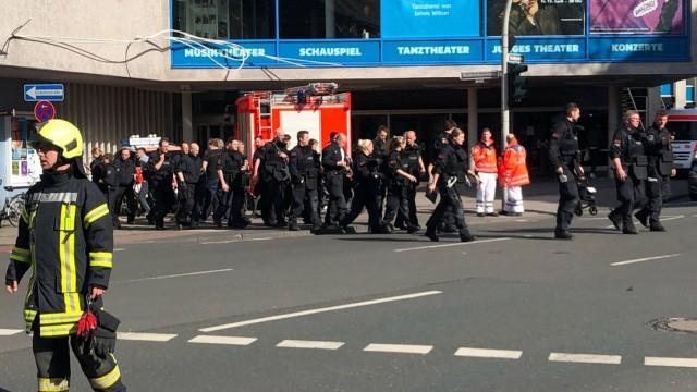 Ван се вряза в тълпа в Мюнстер, има загинали и ранени