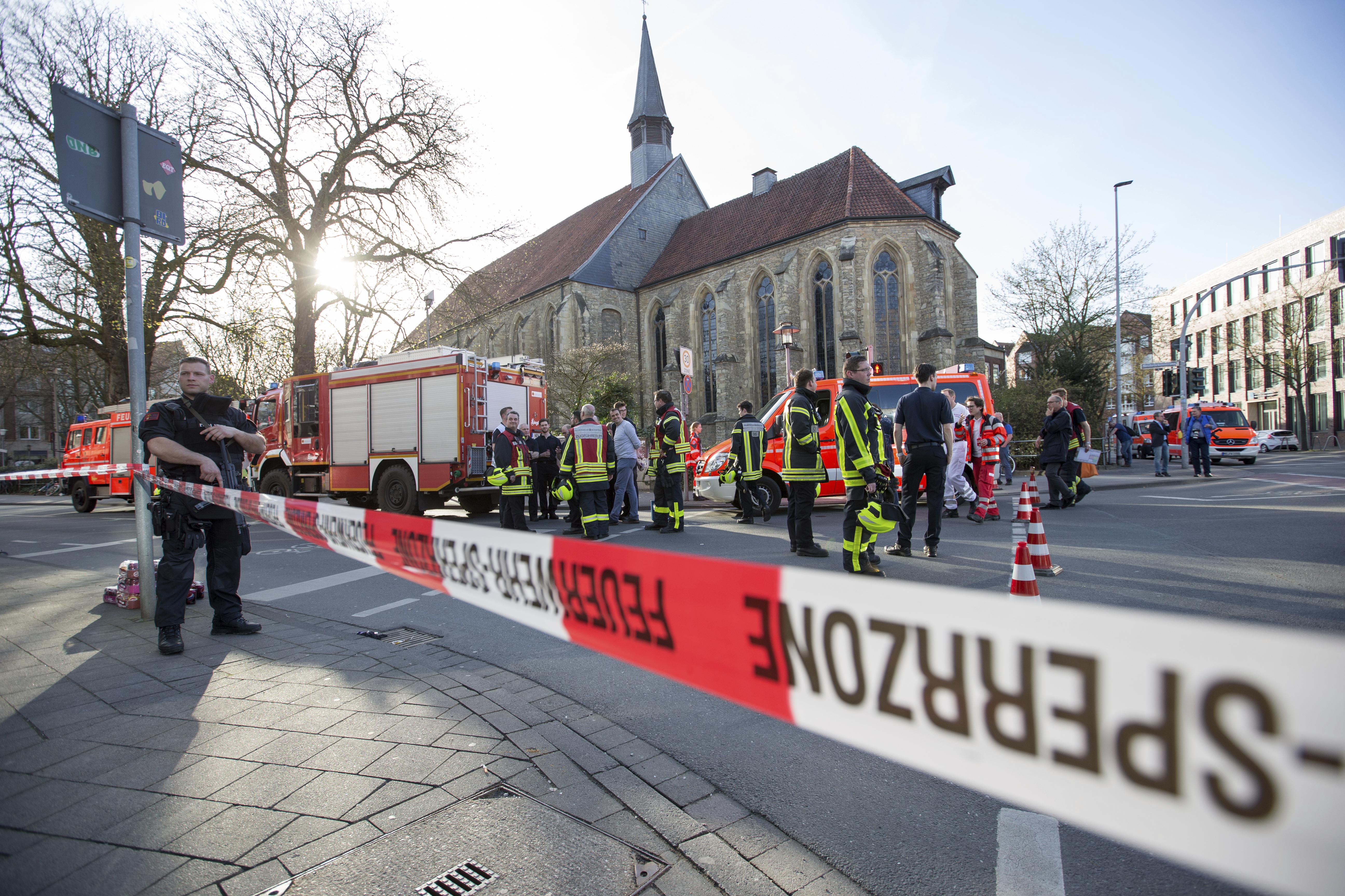 Инцидентът в Мюнстер не е терористичен акт
