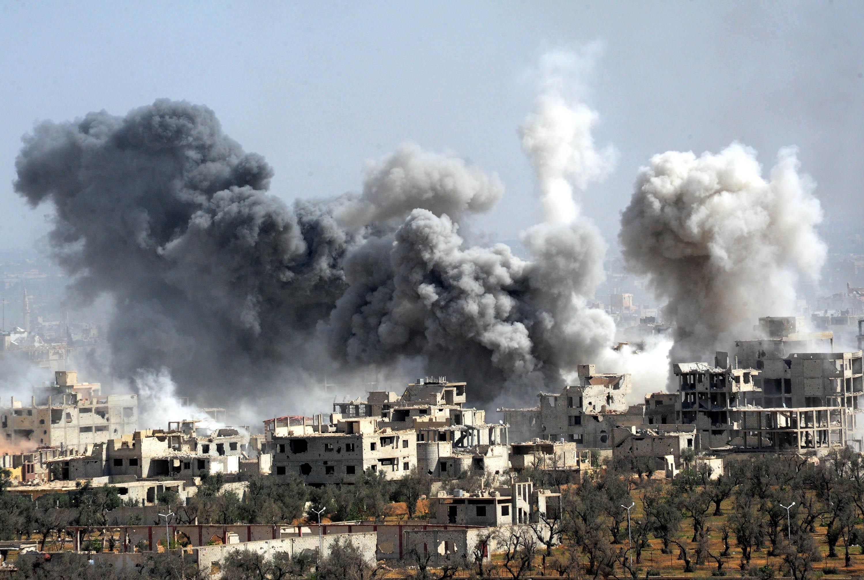 Предполагаема химическа атака сее смърт в Сирия