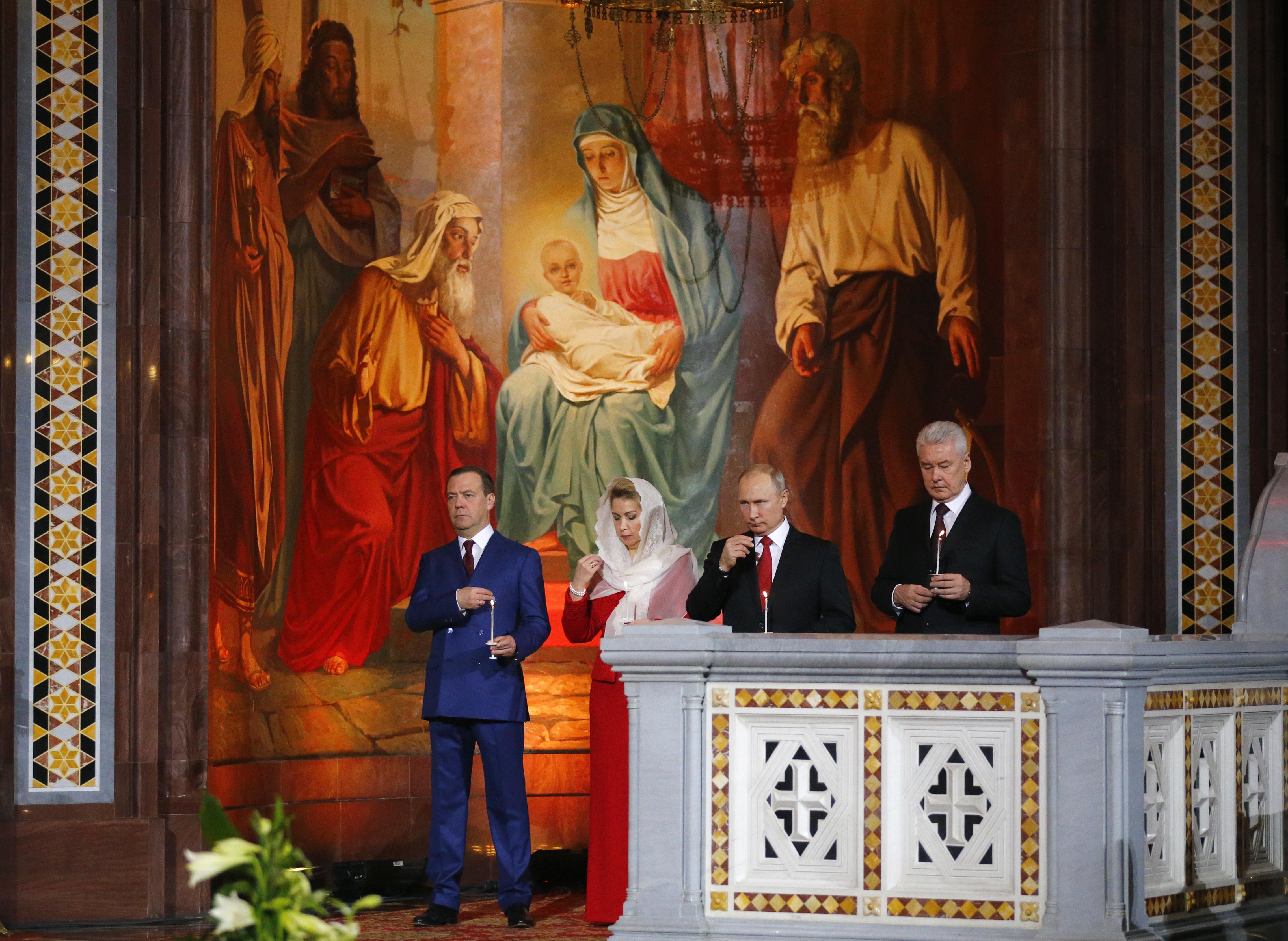Путин: Великден е тържество на живота, доброто и любовта!