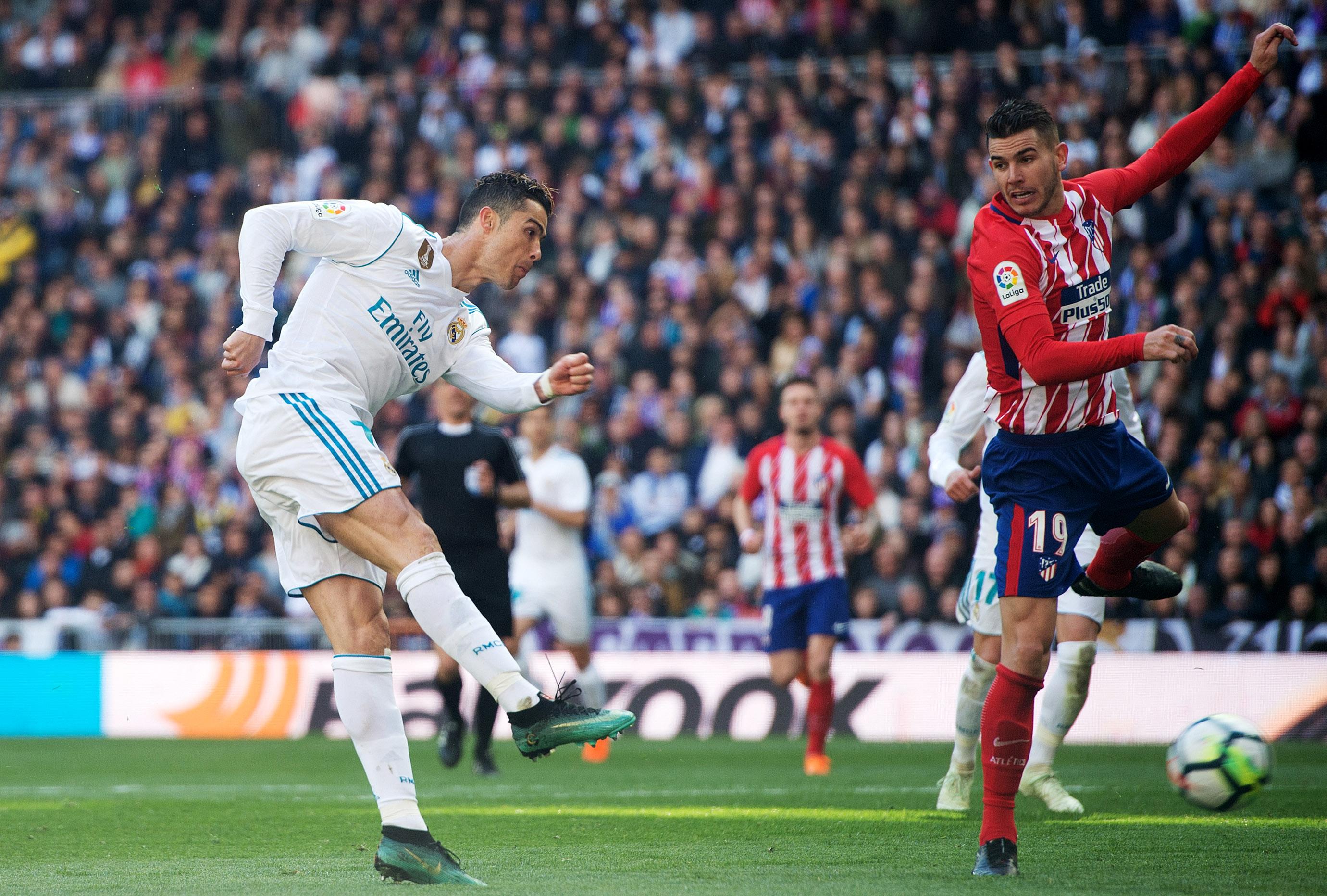 Атлетико пак спря Реал, нов супергол на Роналдо