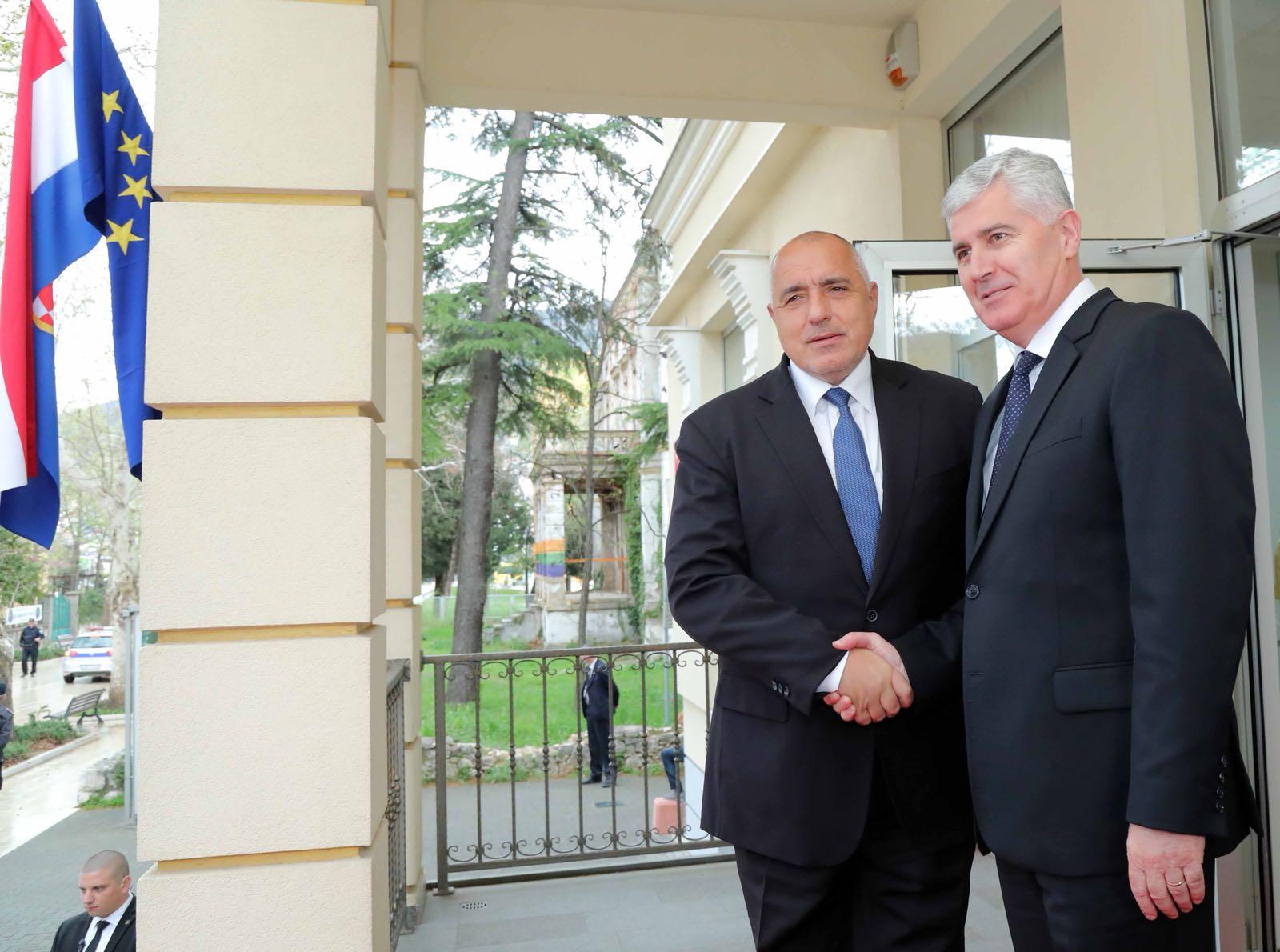 Бойко Борисов: Без егоизъм на Балканите, нужен ни е мир