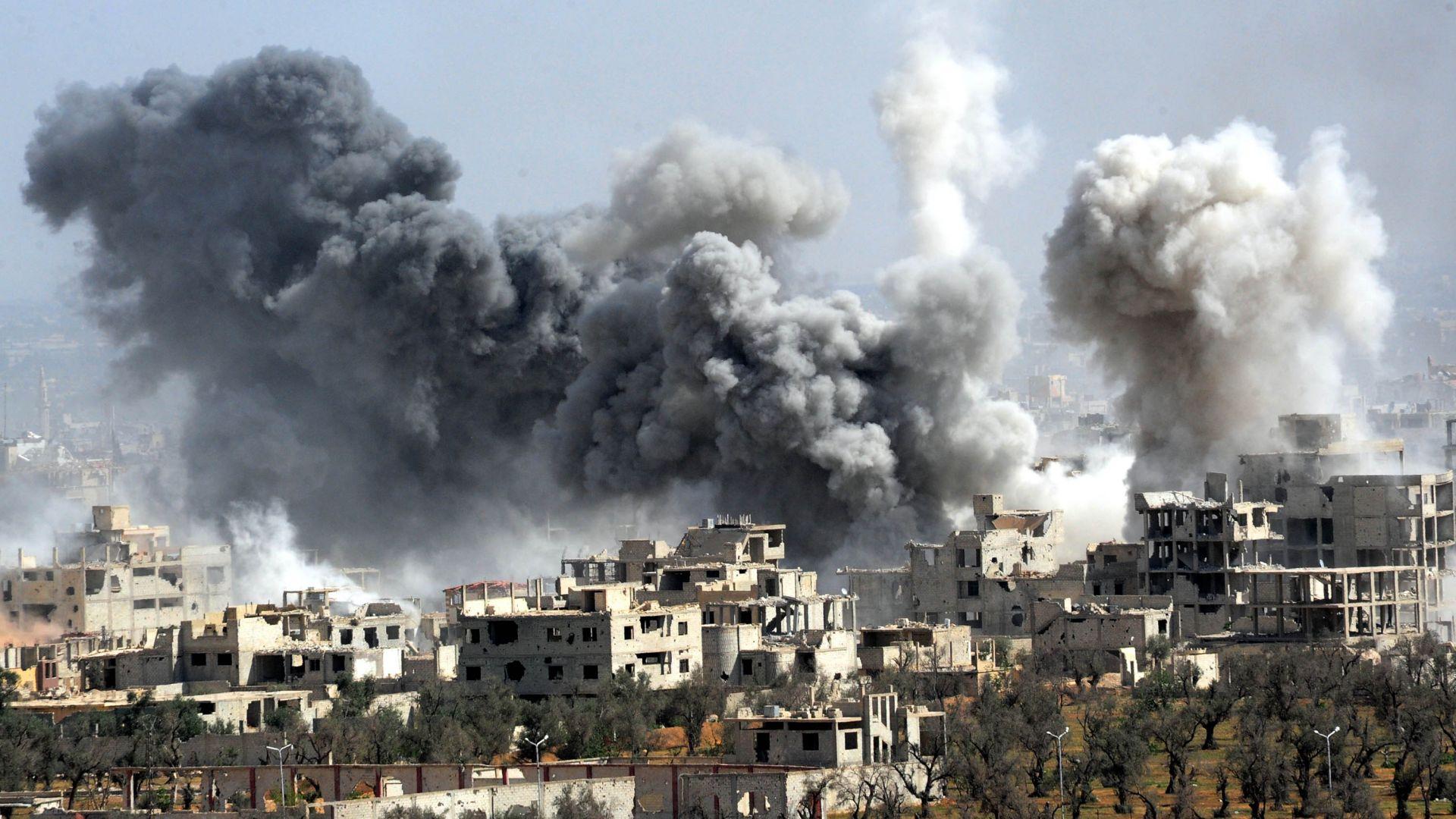 Войната в Сирия е далеч от приключване