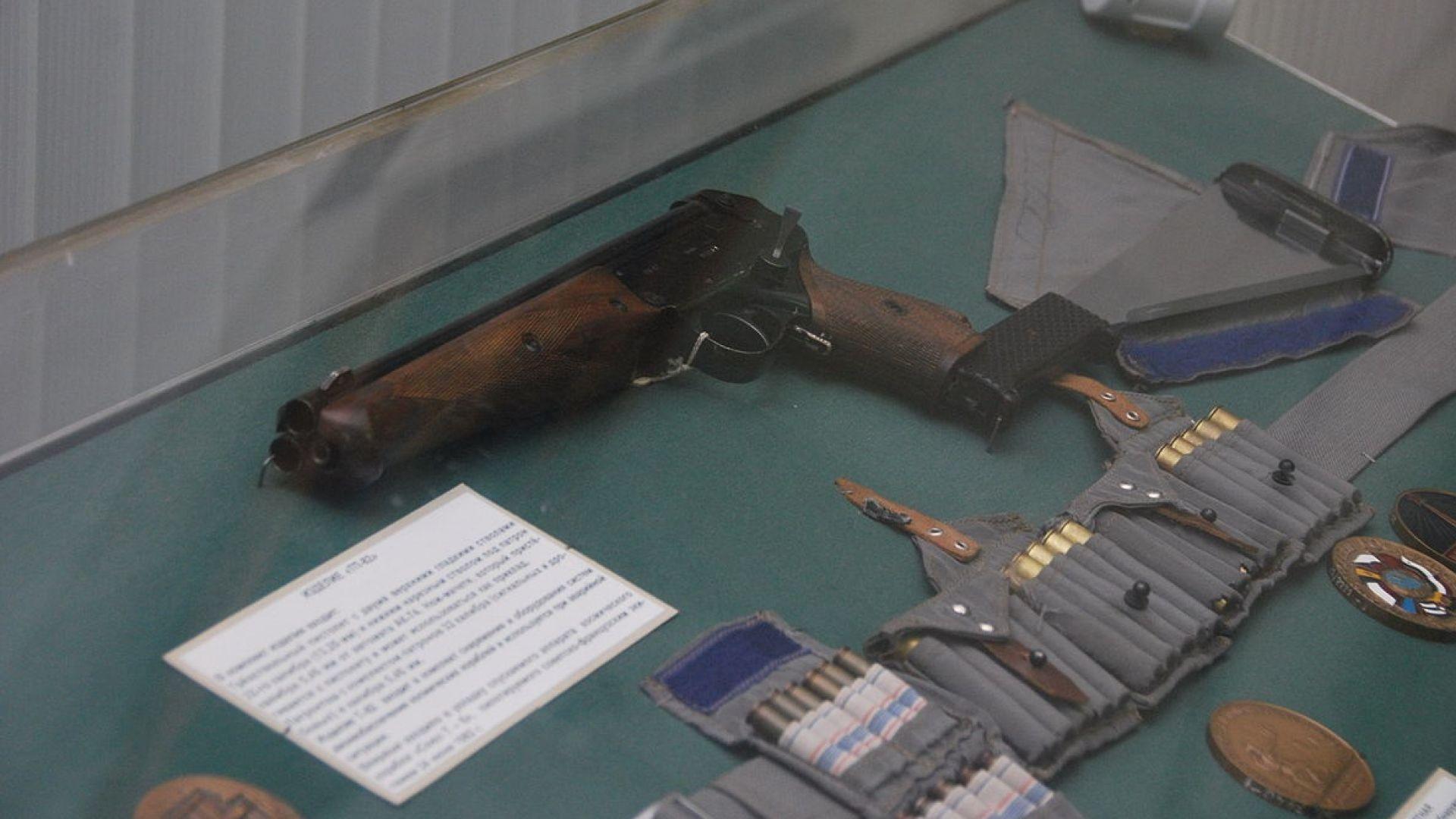 Оръжията на руските космонавти