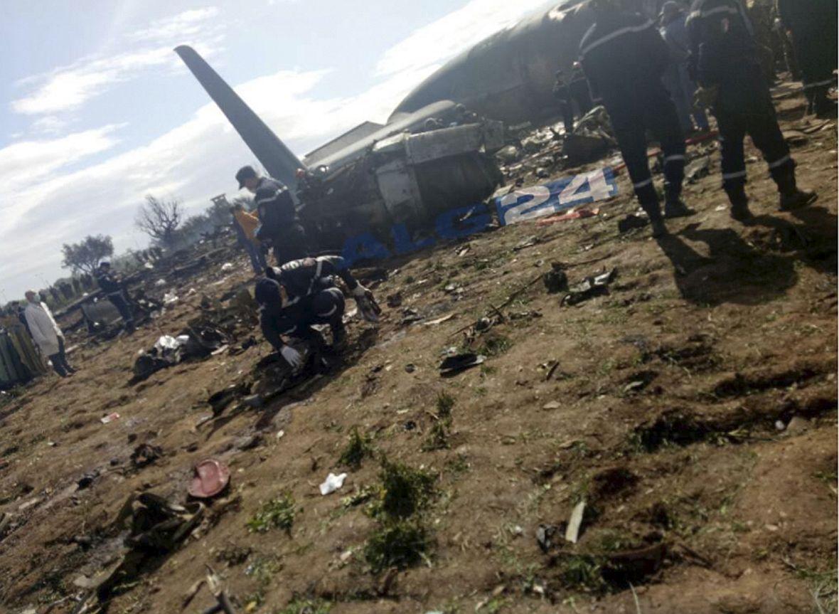 Тридневен траур в Алжир след самолетната катастрофа