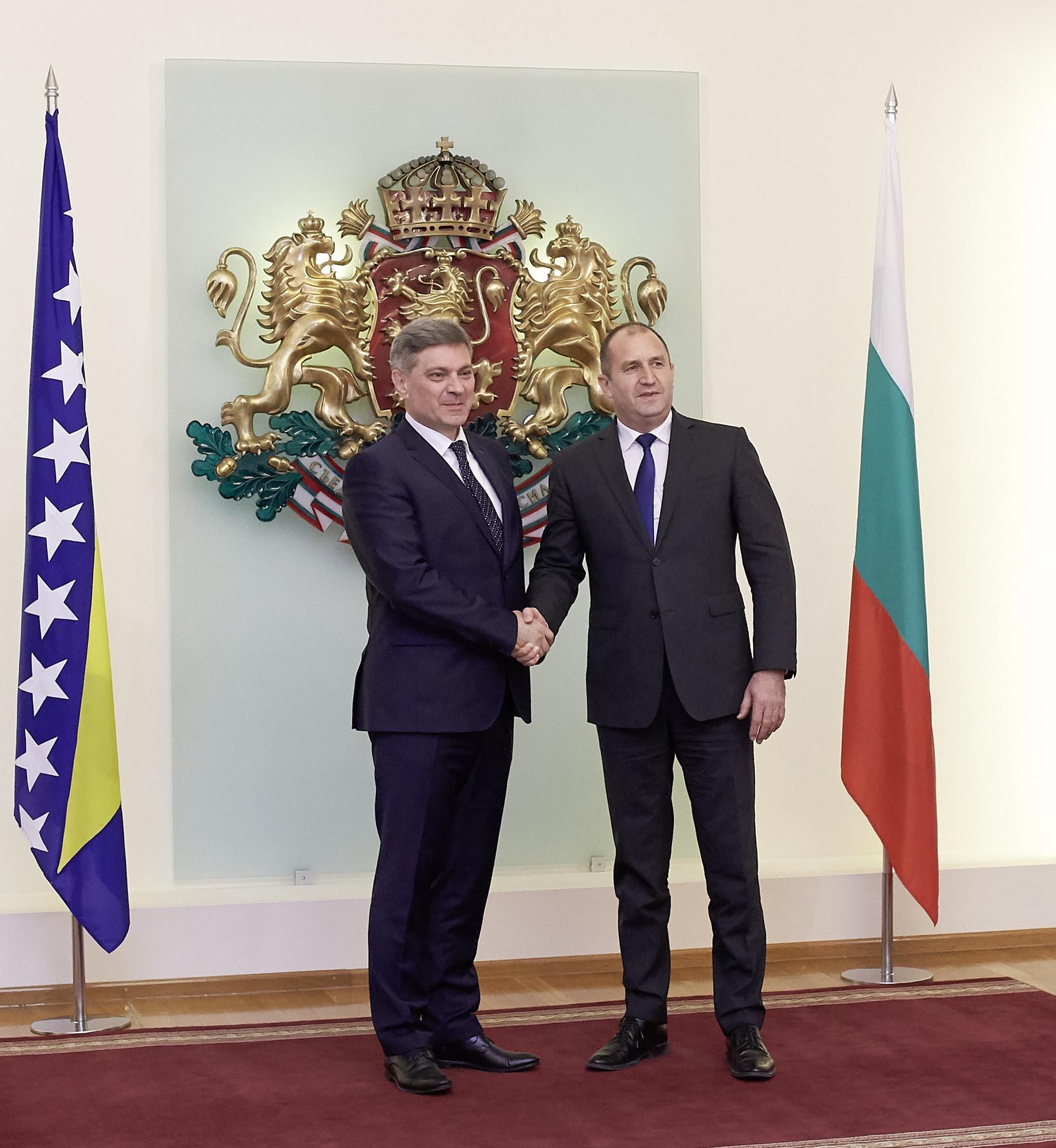 България готова да задълбочи връзките с Босна и Херцеговина