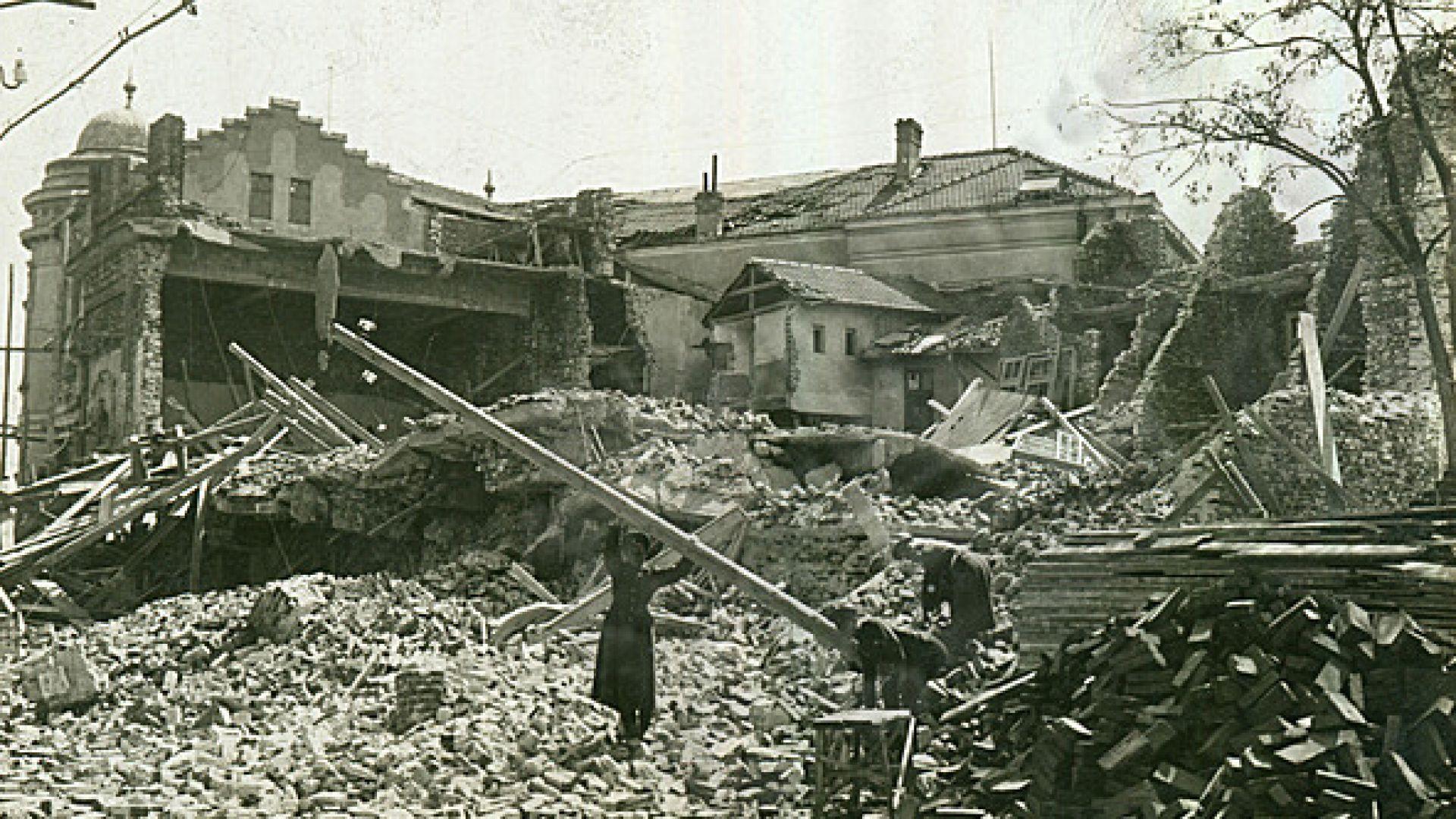 Ужасът на земетресението, сринало половин Тракия
