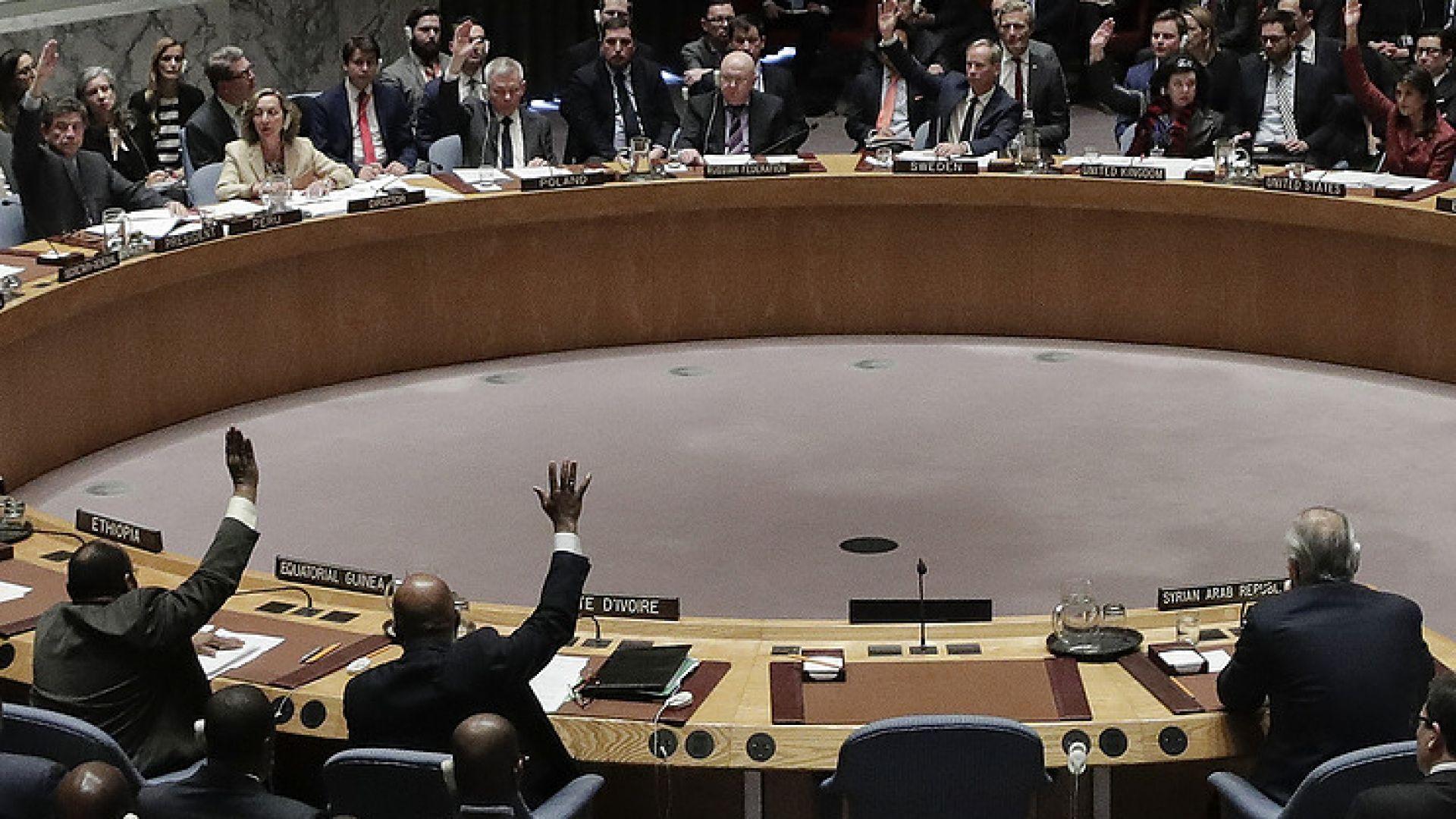 Франция, САЩ и Великобритания с проект за резолюция за Сирия