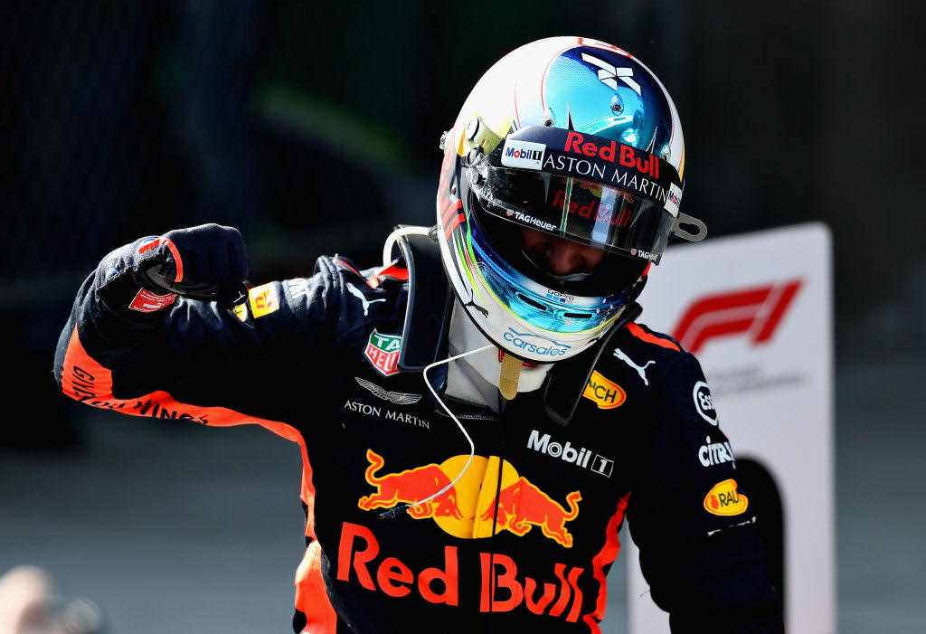 """Сладкият звяр"" Рикардо е супер новина за Формула 1"
