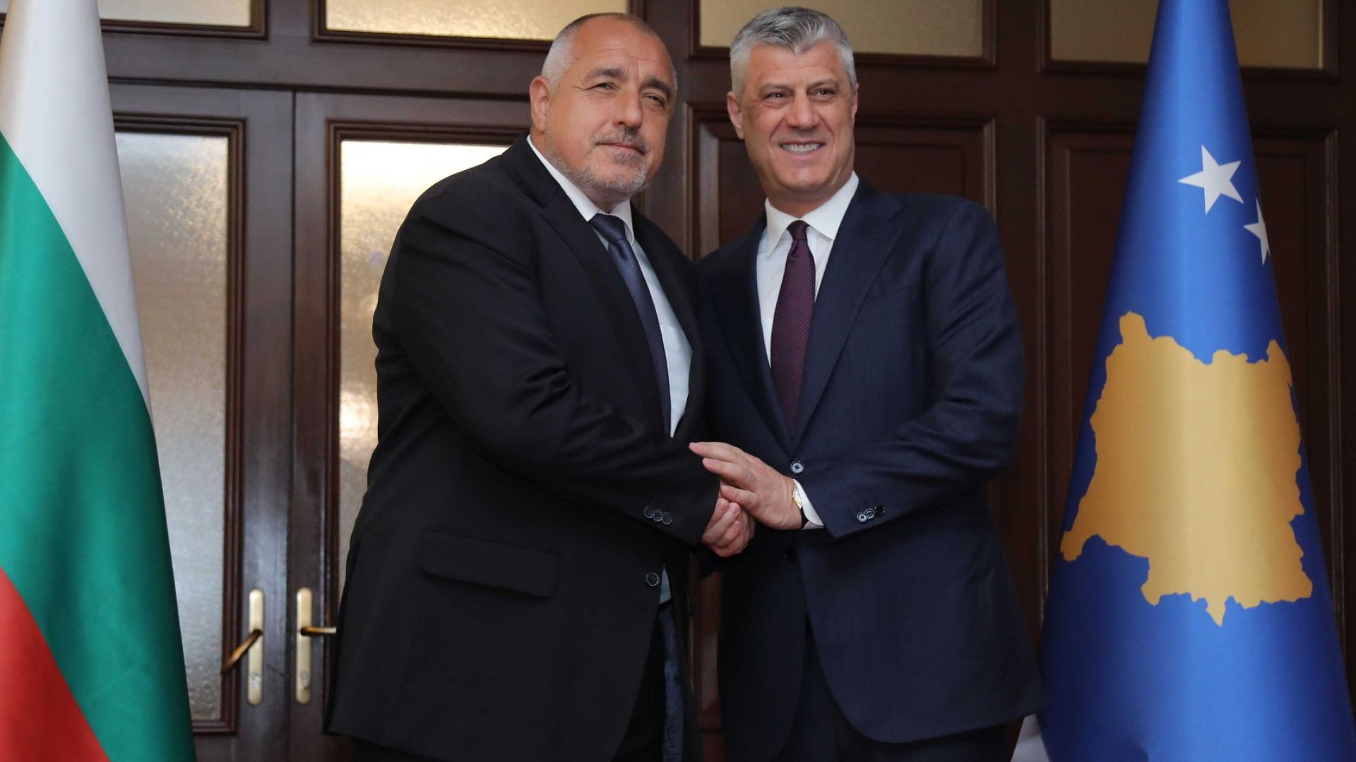 Борисов прие медал за свободата и независимостта на Косово