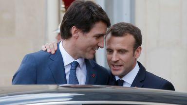 Трюдо и Макрон похвалиха споразумението СЕТА