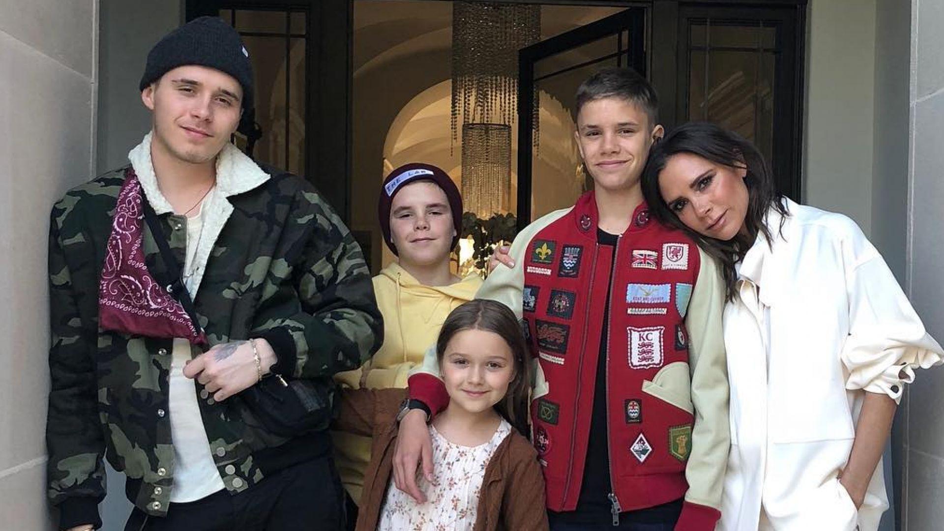 Виктория празнува 44-и РД с децата в Калифорния