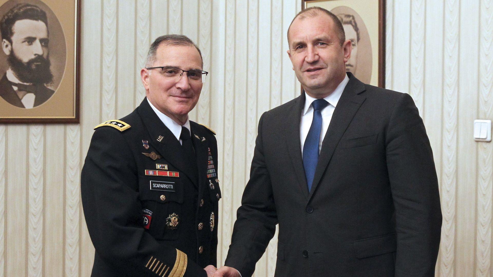 Радев: Щом сме в НАТО, ще поддържаме армията