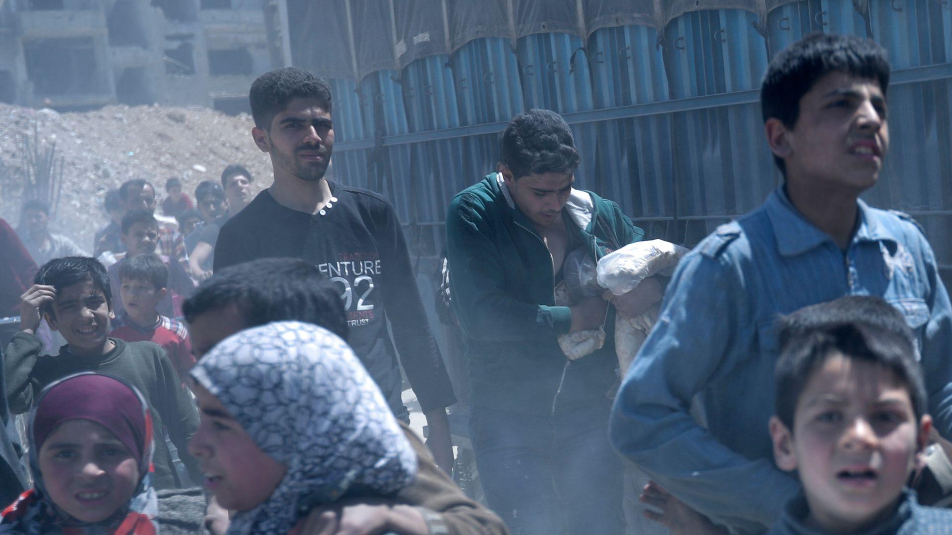 Руски военен: Сирийските бунтовници правят химическо оръжие