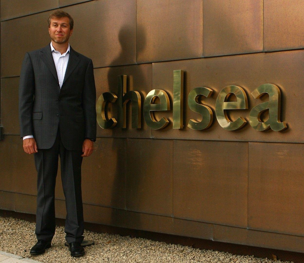 "Новият бос на ""Челси"", 2003 година"