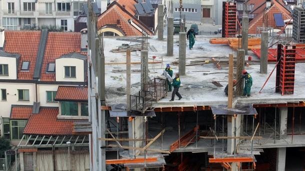 Рязко свиване на строителството в България през февруари при по-умерено понижение в рамките на ЕС