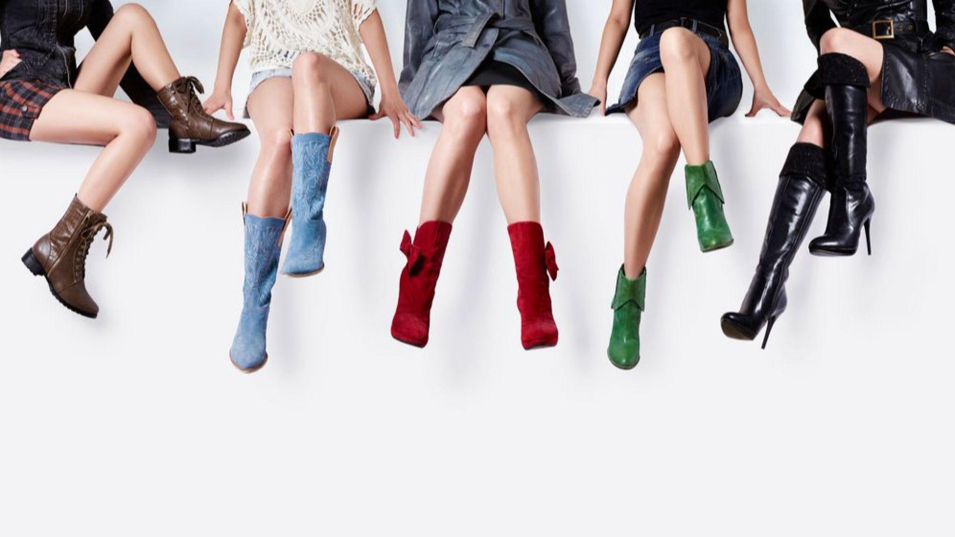 Еволюцията на обувките (галерия)