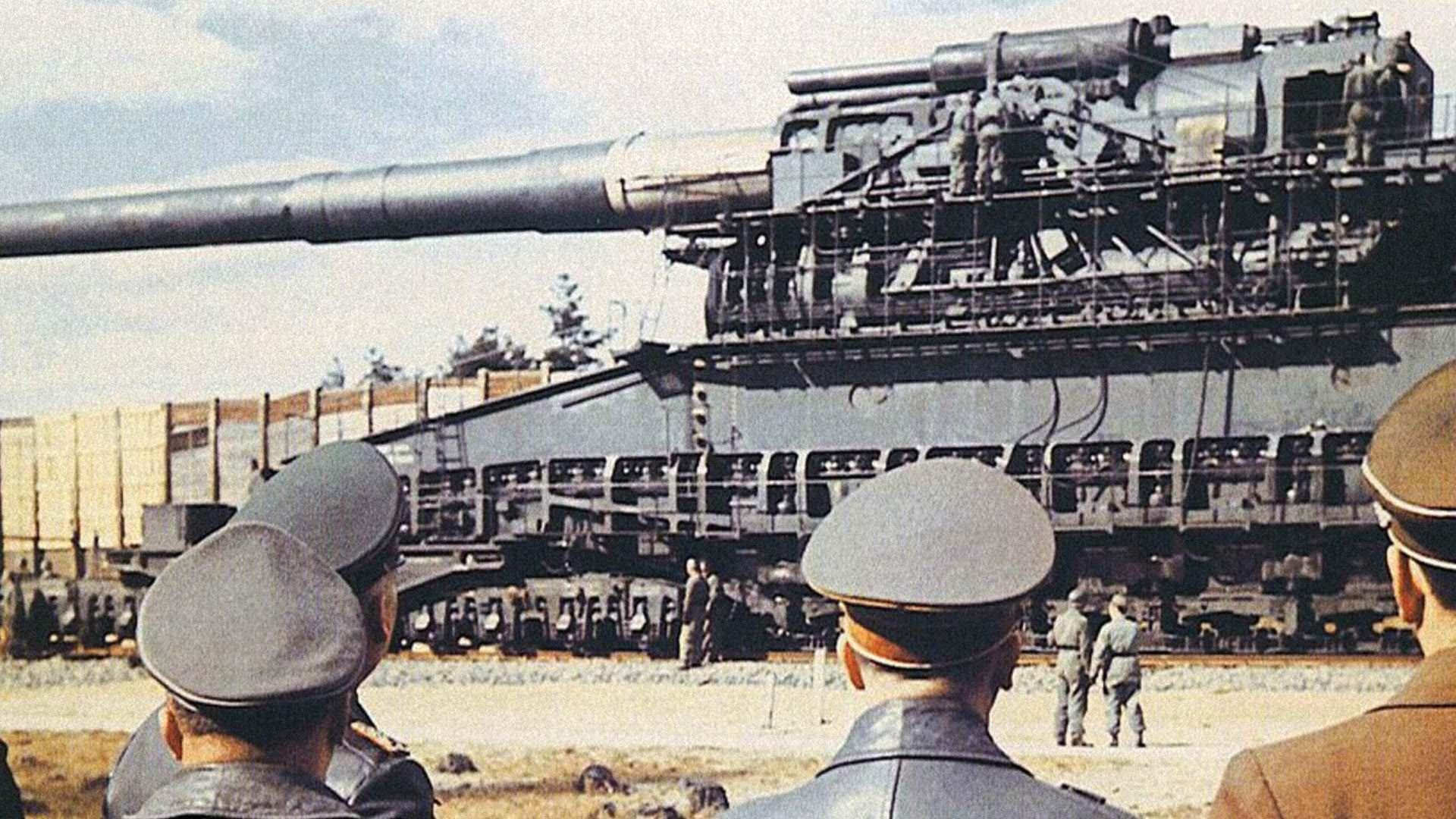 Най-мощното оръдие, създавано някога