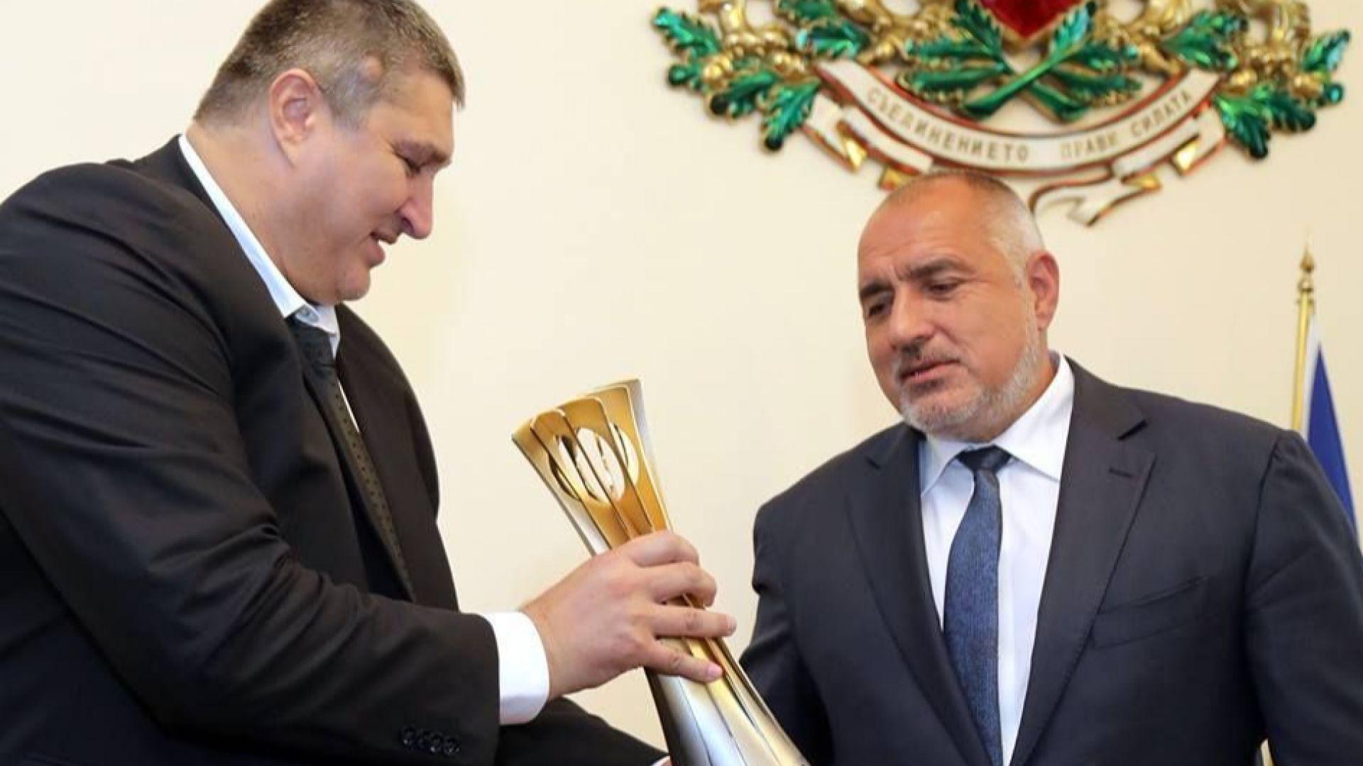 Премиерът Борисов: Инвестирахме 350 милиона лева в спортни зали