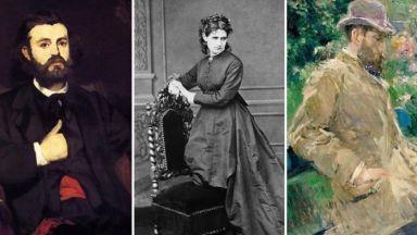 """Берта Моризо - единствената жена-художник в """"бандата на Мане"""""""