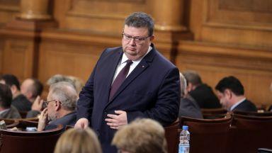 Цацаров: Целият кабинет ли мисли, че е премината границата при ареста на Иванчева?