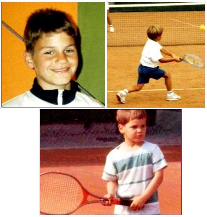 Детето Роджър Федерер - бъдеща звезда