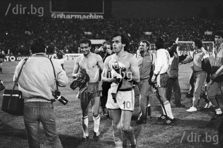 1985 г., България - Франция 2:0