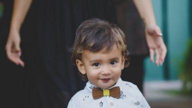 Синът на Део навърши 2 години