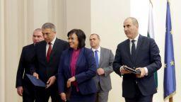 Нинова: не е имало изказвания за излизане от НАТО и ЕС