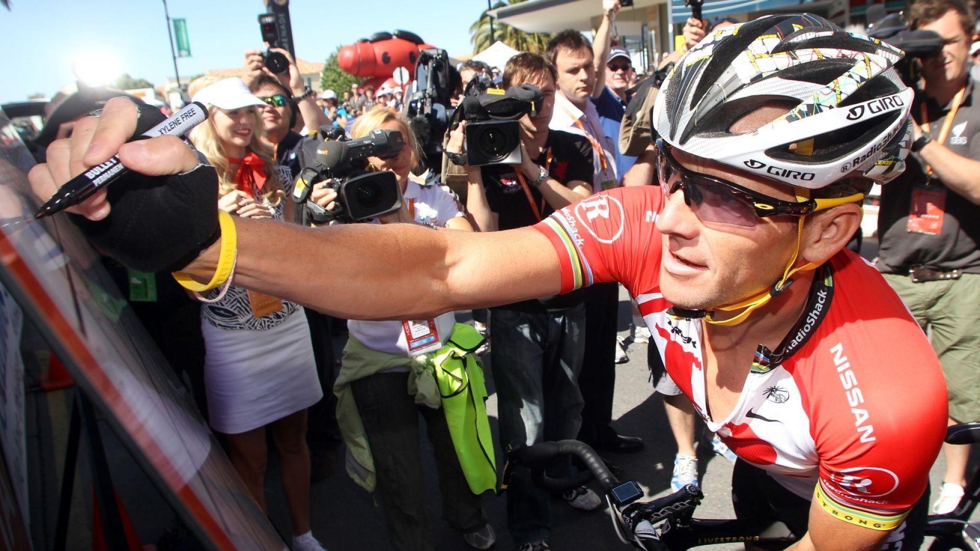 Ланс Армстронг: Всички взимат допинг, аз просто бях твърде арогантен