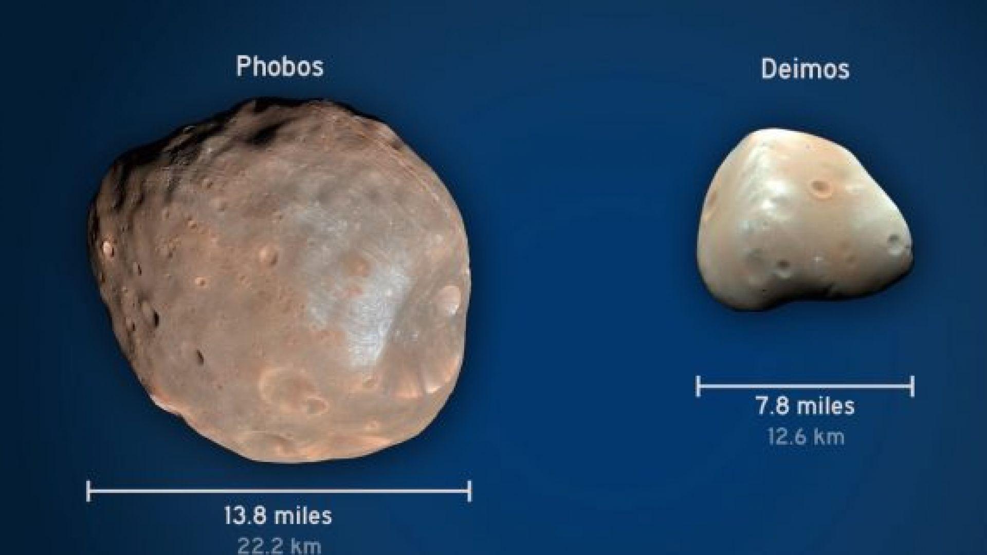 Как са се формирали луните на Марс