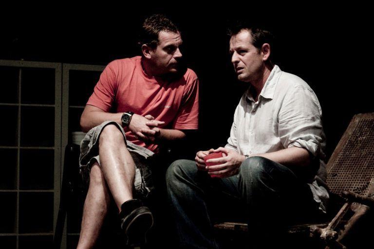 С Юлиян Вергов по време на репетиции