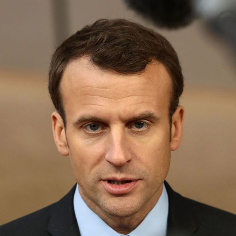 Еманюел Макрон, президент на Франция