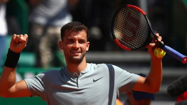 Виртуозен Григор на полуфинал в Монако