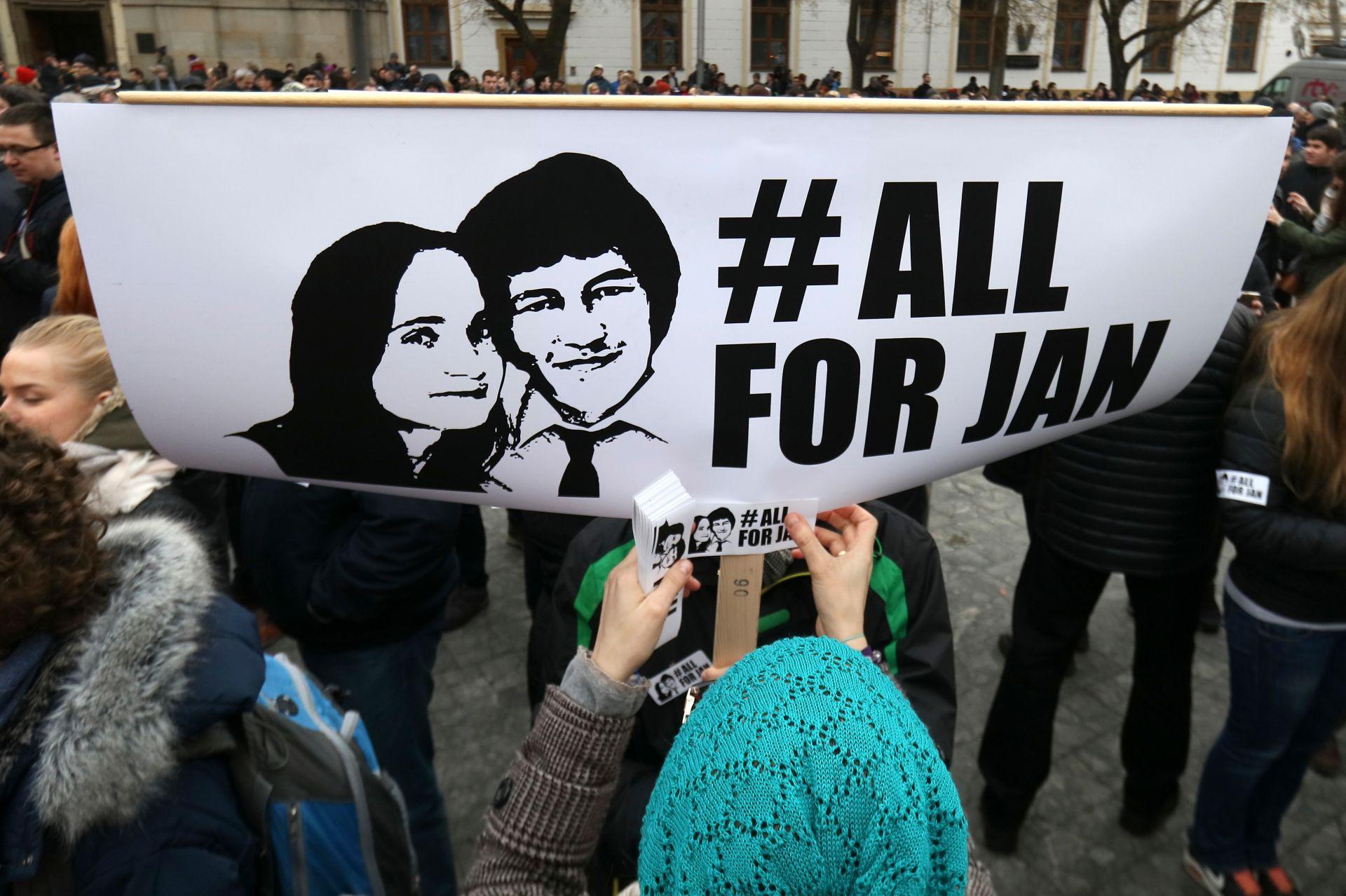 След смъртта на Куциак и на годеницата в Братислава се състояха протестни демонстрации, в които участваха десетки хиляди