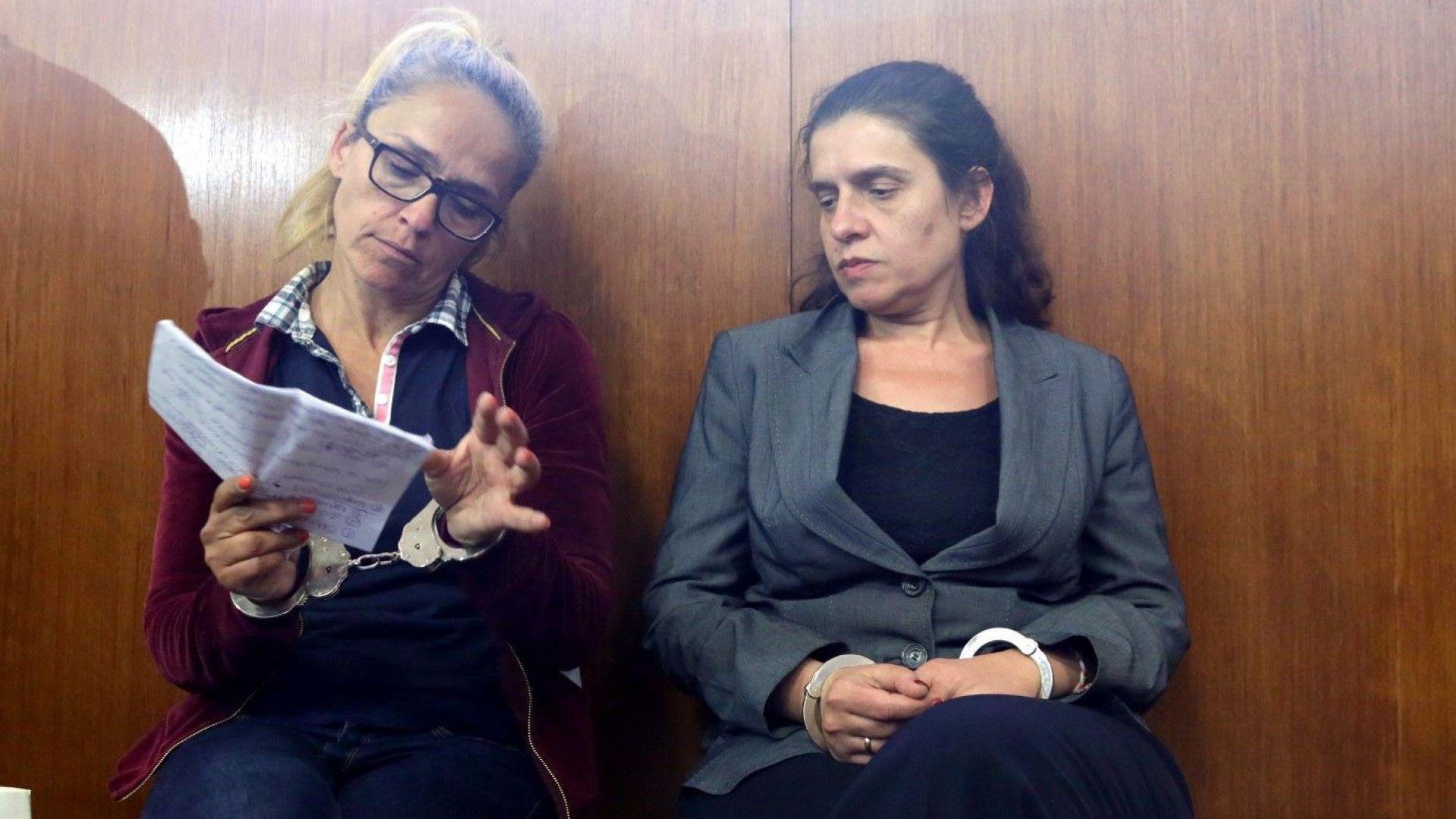 Десислава Иванчева и заместничката й вече са в сливенския  затвор
