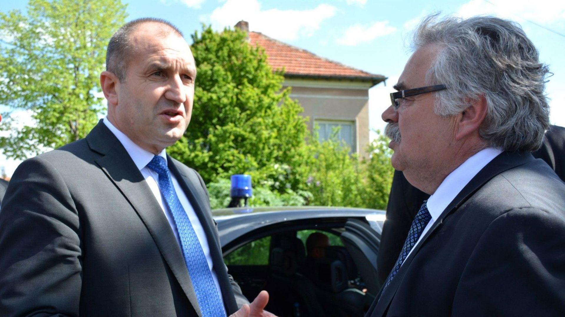 Радев призова за създаването на национален координационен център за бедствия и кризи