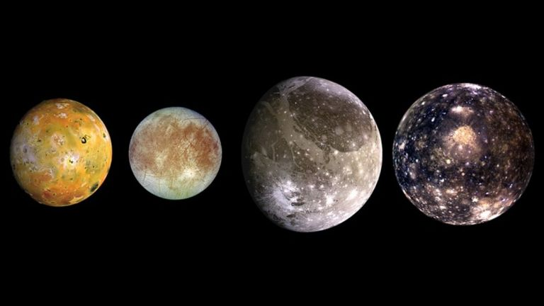 Кои са Галилеевите спътници?