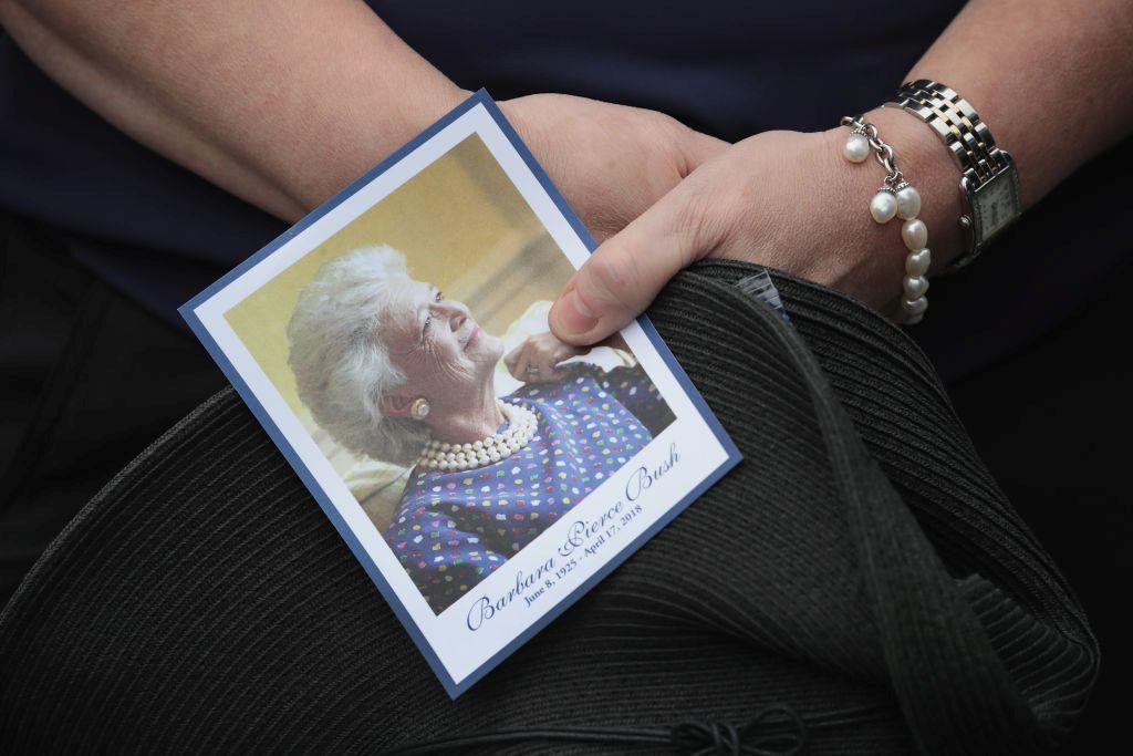 Опелото на Барбара Буш беше в събота в църква в Хюстън