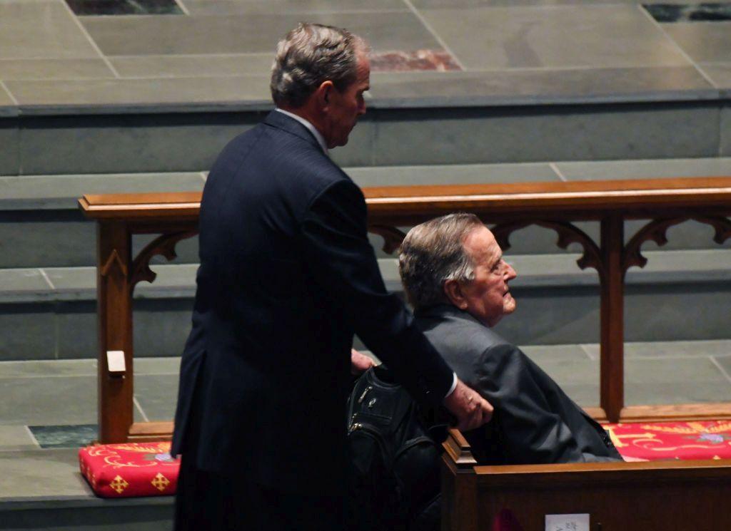 Баща и син Буш