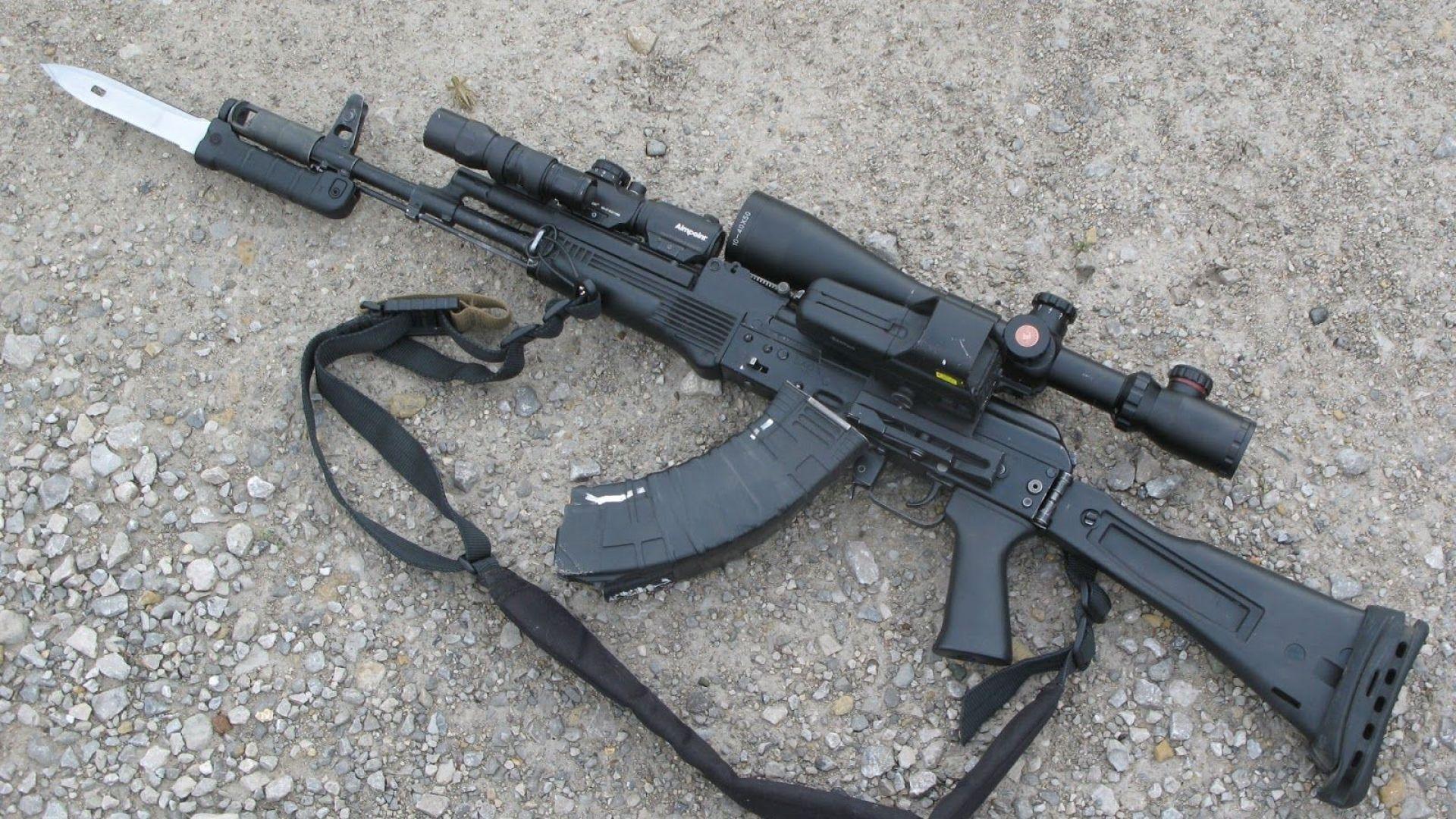 Индия закупи лиценза за автомат АК-103