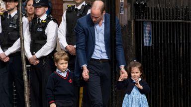 Честито! Катрин роди втори син на принц Уилям