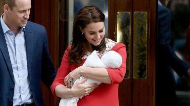 Обявиха името на кралското бебе