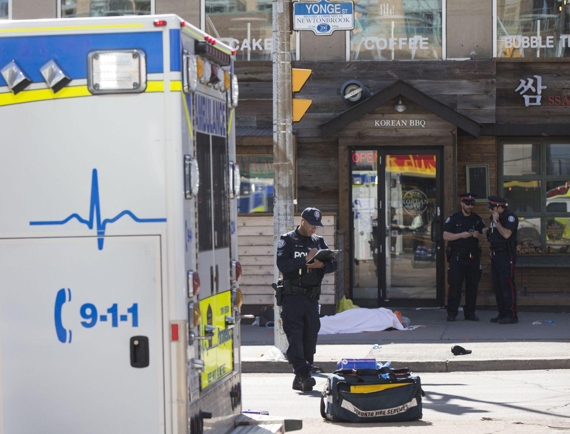 След нападението в Торонто
