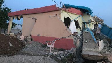 Мощно земетресение разлюля Турция