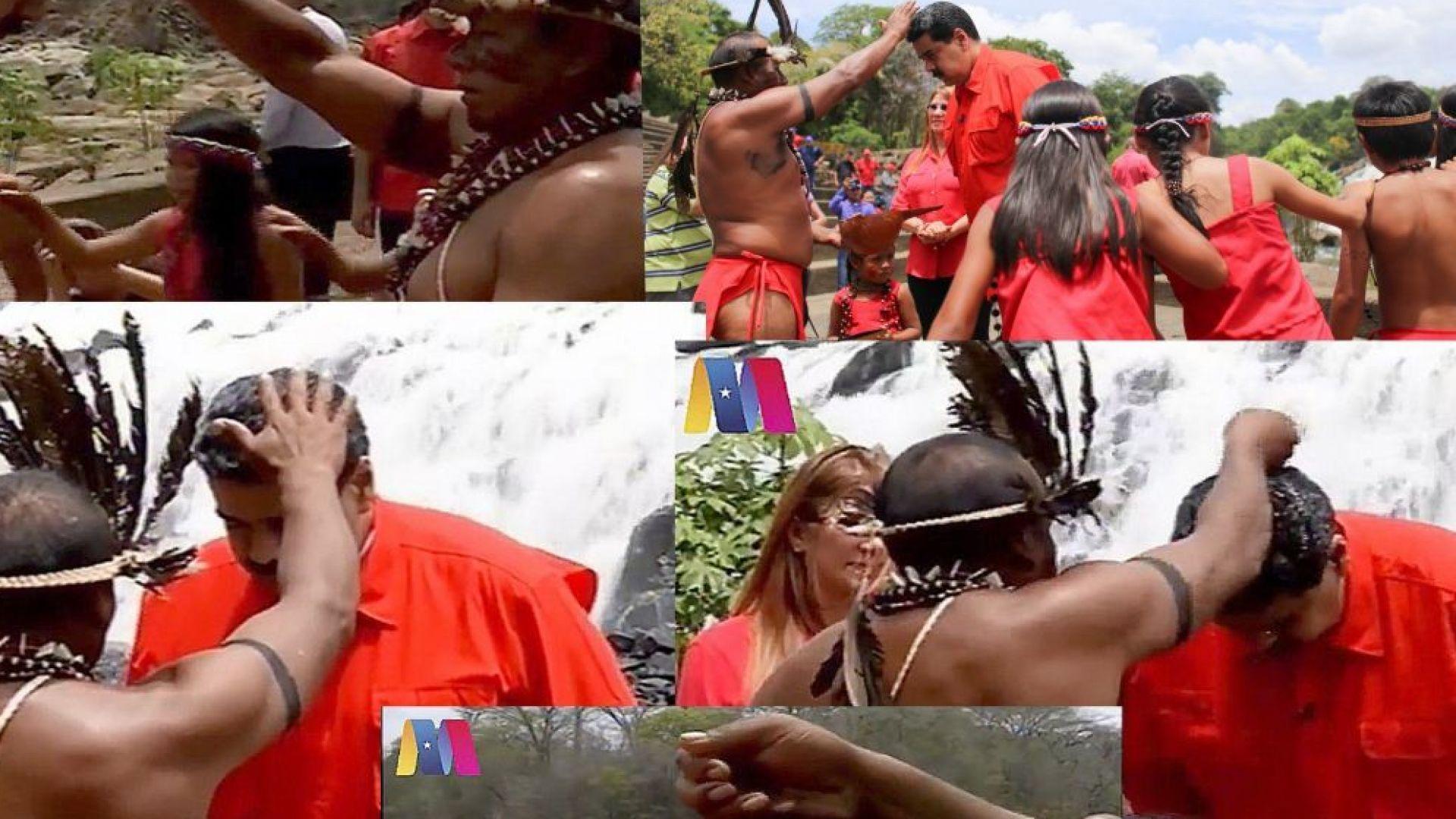 Николас Мадуро отиде при шаман преди изборите