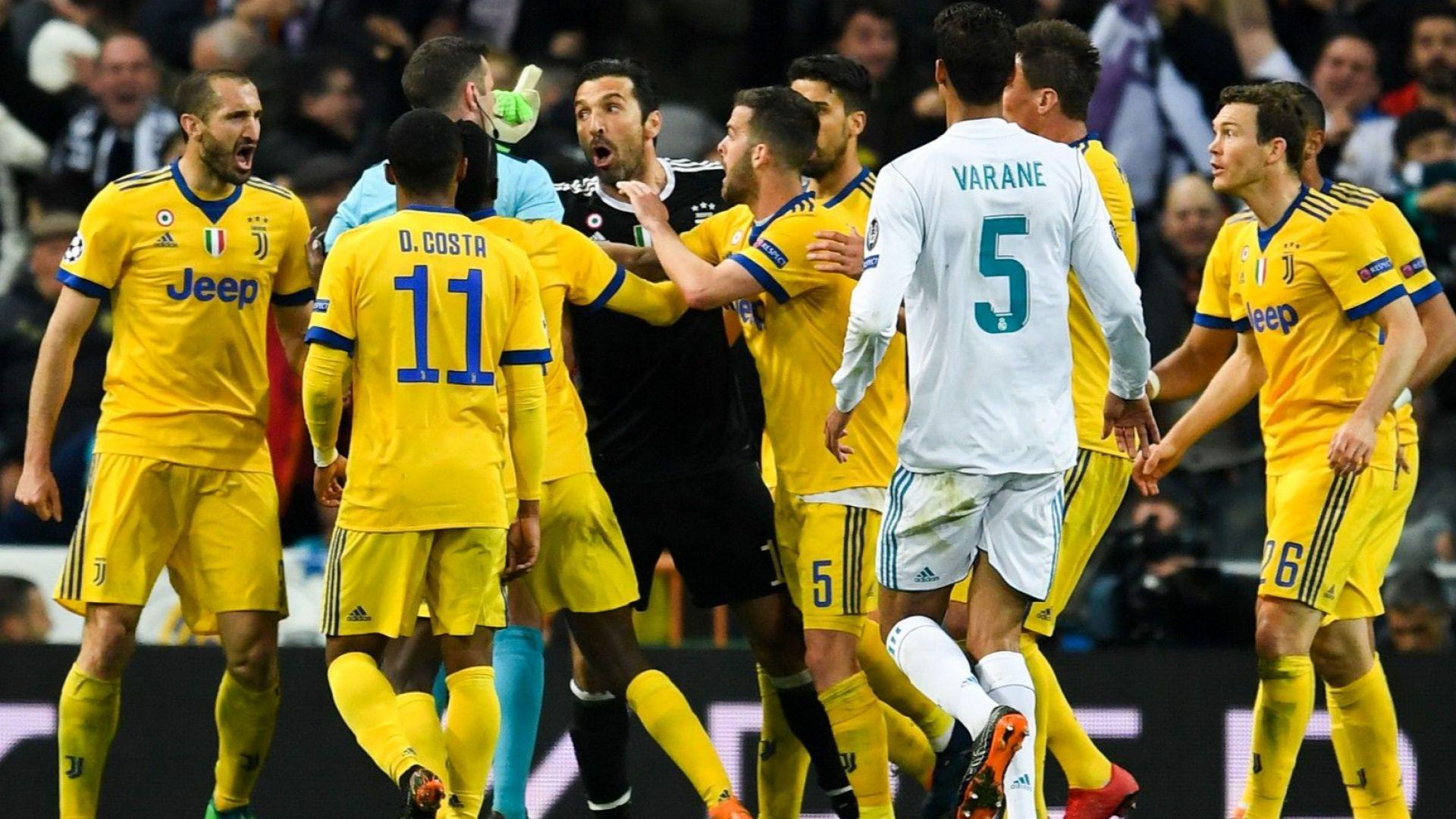 """Според президента на УЕФА обидите на Буфон към съдията са """"разбираеми"""""""