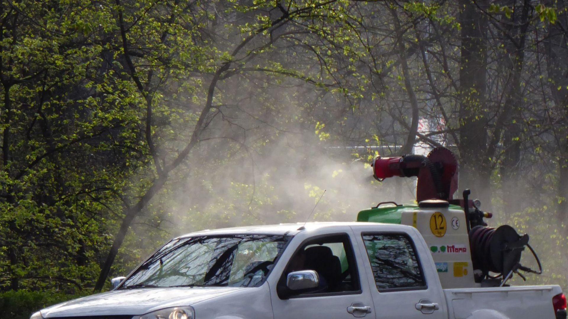 Започва пръскането срещу комари в Пловдив