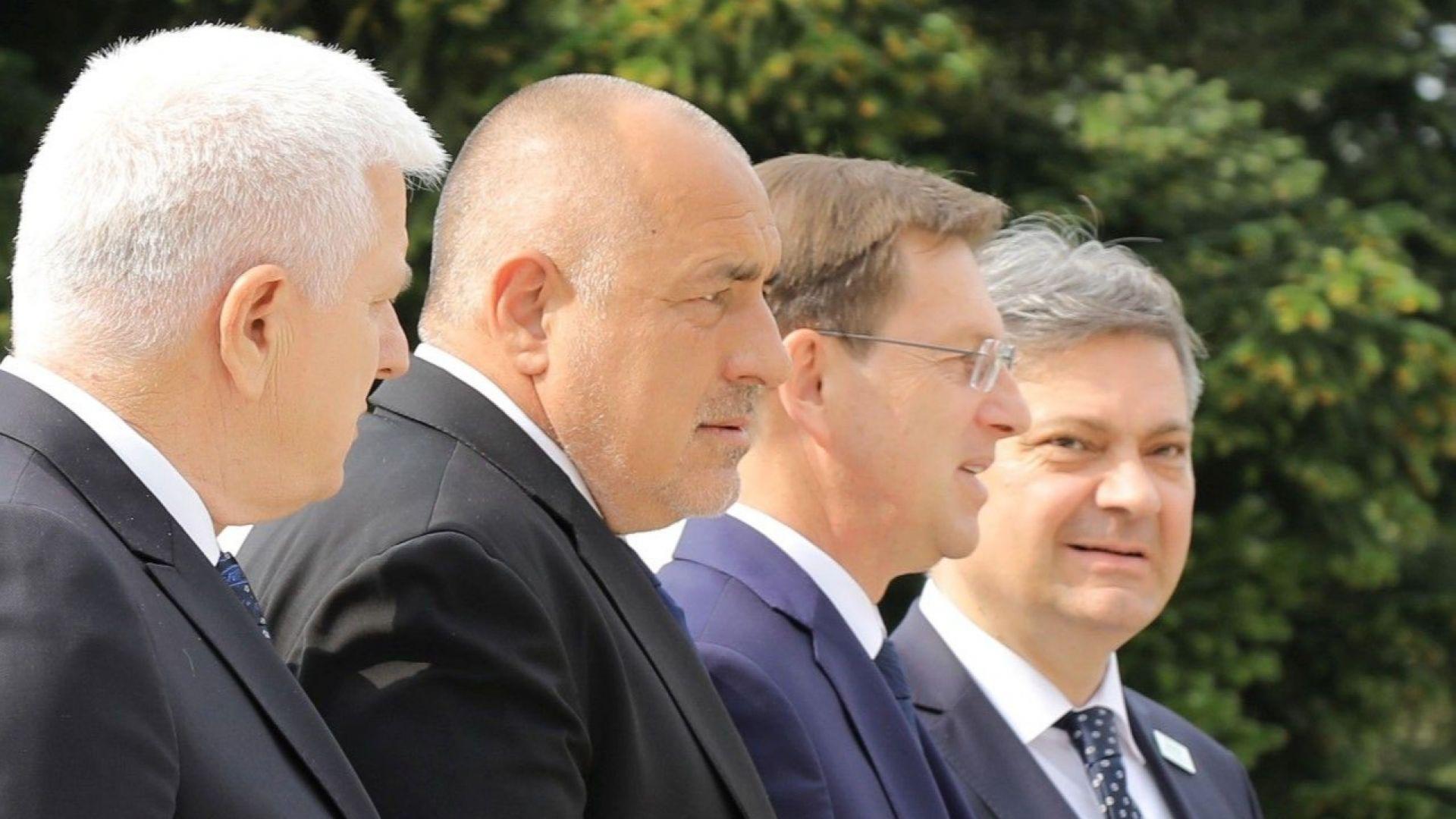 Борисов в Словения: Европейската перспектива на Балканите няма алтернатива