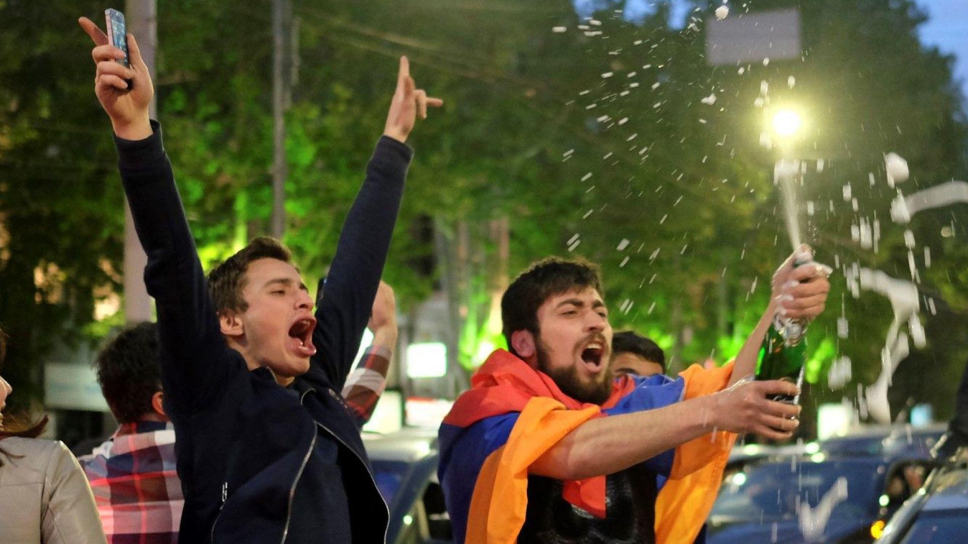 Арменците нанасят удар на политическия модел на Путин